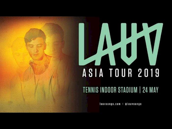 Konser LAUV di Jakarta Dibatalkan
