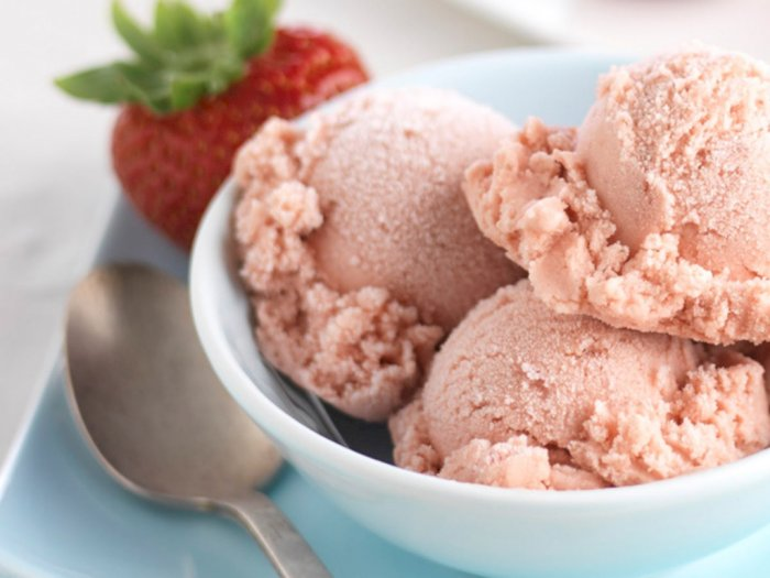 Resep Gelato Strawberry