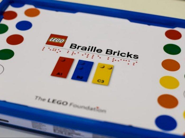 Batu Bata Braille LEGO Membantu Anak Tunanetra