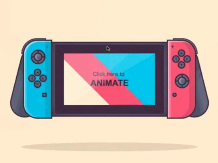 Keren! Programmer Ini Buat Animasi Nintendo Switch Pakai CSS3
