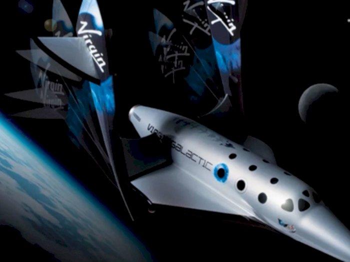 Pesawat Virgin Galactic Bakal Angkut Penumpang 32 Jam Sekali
