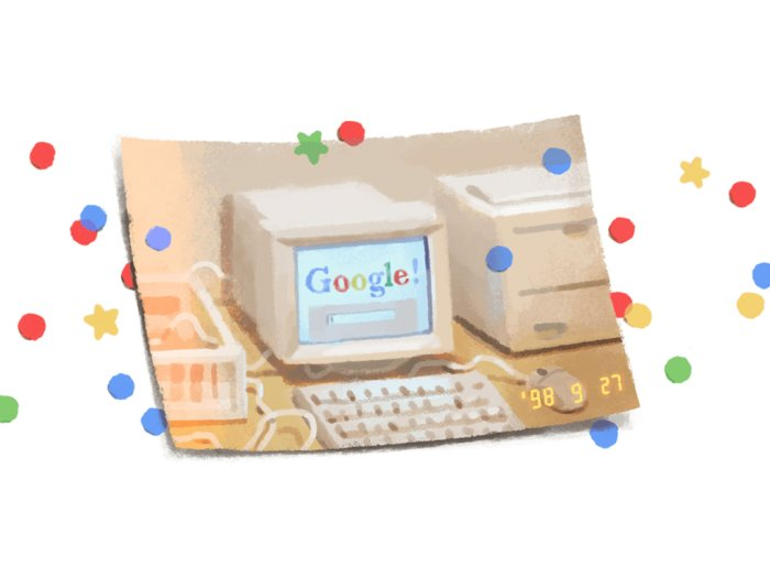Google Rayakan Ulang Tahunnya Yang ke-21 Dengan Tampilkan Doodle