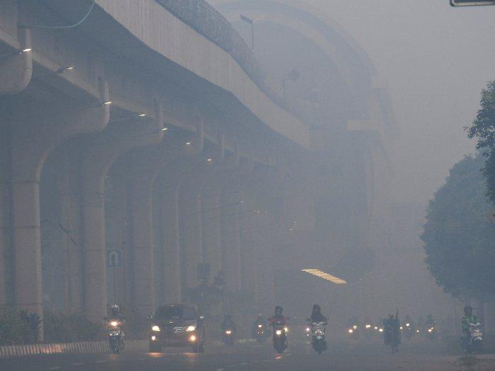 Kabut Asap Kembali Kepung Palembang