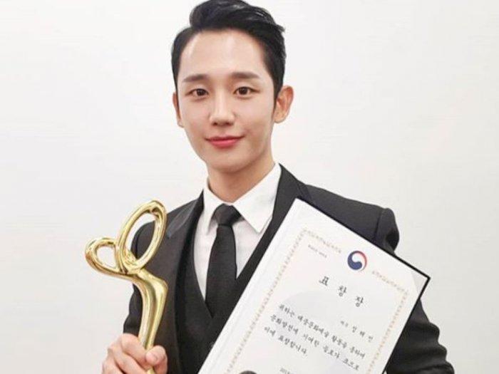 Jung Hae-in Memenangkan Penghargaan di London Film Festival