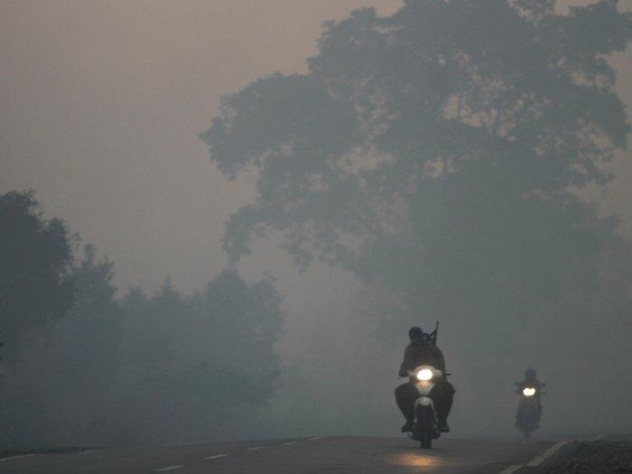 Asap Karhutla Kembali Selimuti Sumatera Selatan