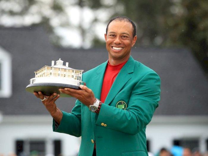 Ditawari Puluhan Miliar, Tiger Woods Tetap Ogah Main di Arab Saudi