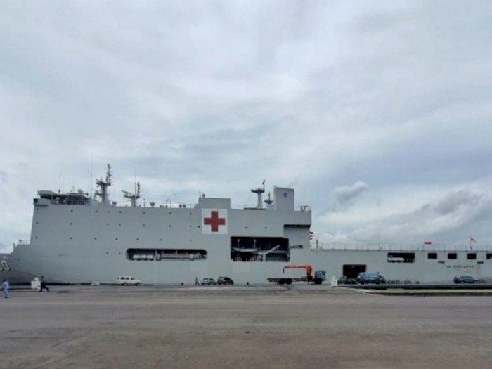 Jemput 74 WNI di Jepang, Pemerintah Gunakan KRI dr Soeharso