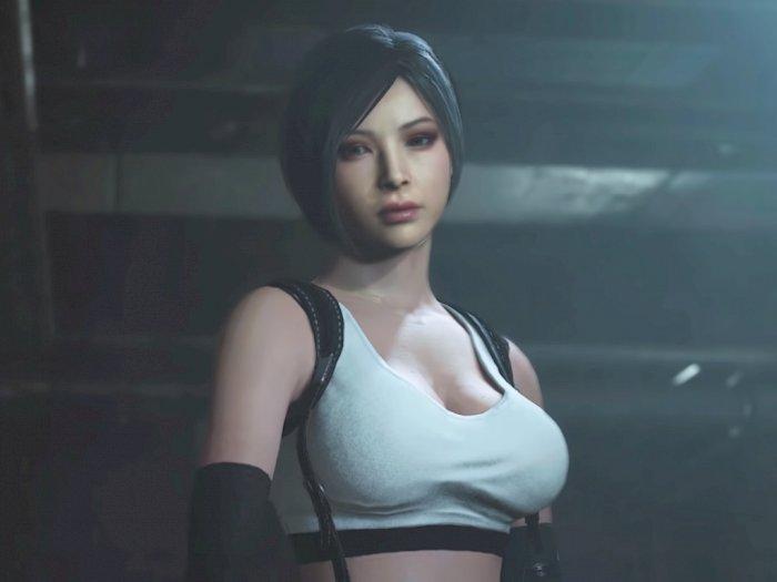 Modder Ini Hadirkan Kostum Tifa Lockhart di Resident Evil 2 Remake