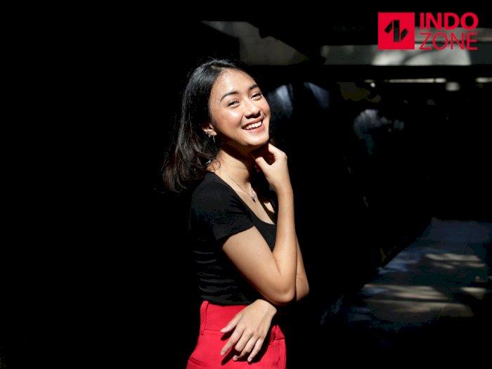 [FOTO EKSKLUSIF] Cantiknya Penyanyi Muda Rahmania Astrini