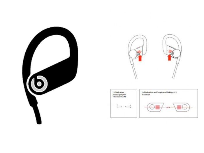 Desain Earphone Apple Powerbeats 4 Terungkap di Situs FCC