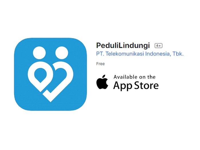 Aplikasi PeduliLindungi Kini Tersedia untuk Perangkat iOS dan iPadOS