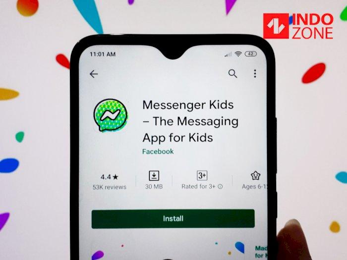 Facebook Resmi Hadirkan Messenger Kids di 70 Negara Termasuk Indonesia