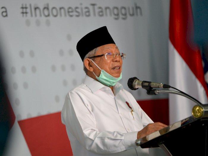 Ma'ruf Amin Sebut Jumlah Orang Miskin di Indonesia Bertambah karena Pandemi COVID-19
