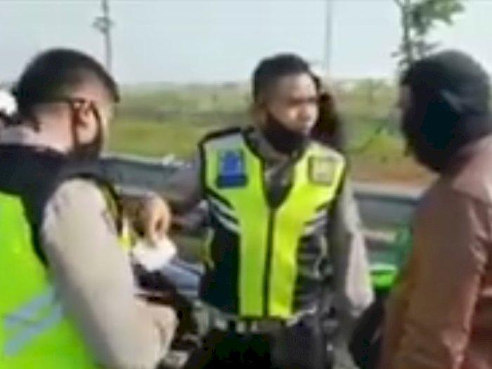 Viral Moge Diduga Pakai STNK Palsu Dirazia Polisi