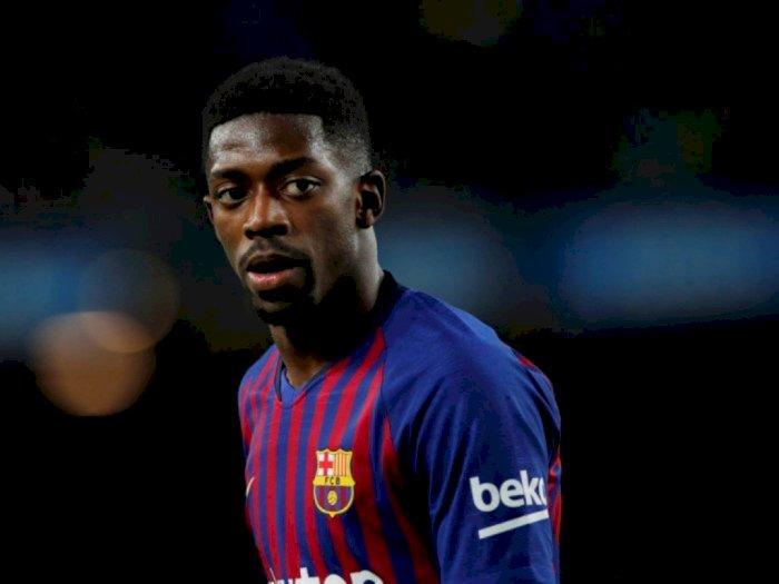 Banderol Ousmane Dembele Turun Drastis, Barcelona Merugi!