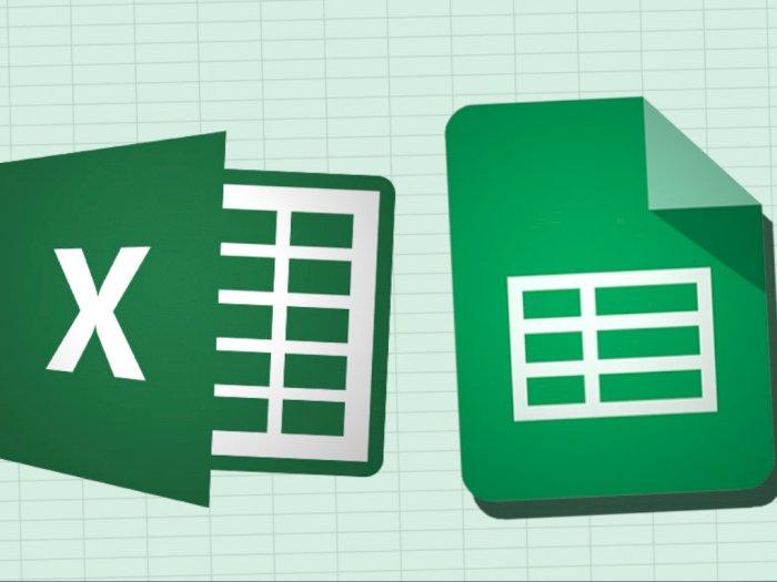 Perbedaan Google Spreadsheet dan Microsoft Excel, Lebih Baik Mana?
