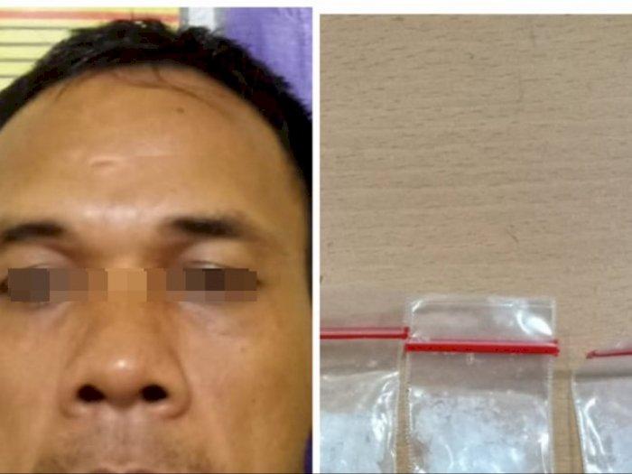 Seorang Pemilik Sabu-Sabu Asal Tanjung Pura Langkat Diamankan Polisi