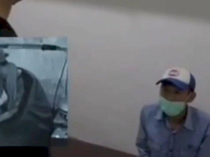 Video Detik-detik Pedagang Bakso Ludahi Mangkuk Pembeli Diamankan Polisi
