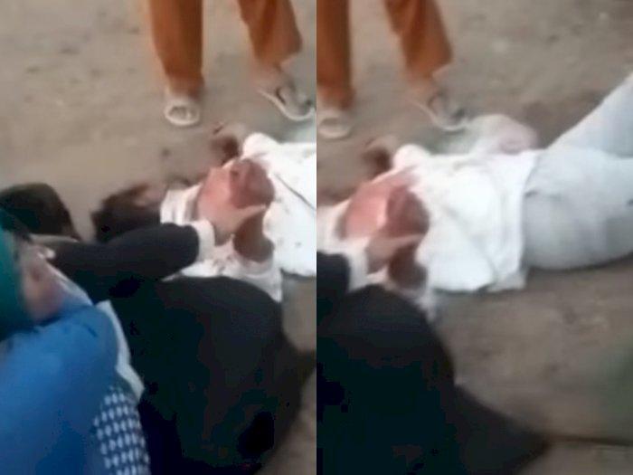 Video Begal Sadis Tembak Korban di Depan Istrinya di Sumatera Selatan, Motor Dibawa Kabur