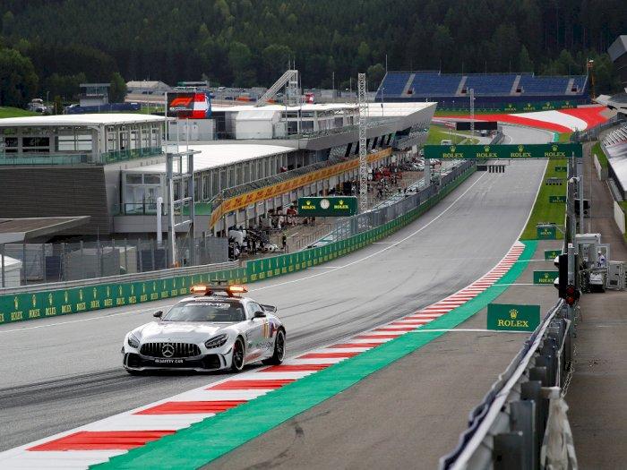 FOTO: Melihat Persiapan Grand Prix Formula 1 di Austria