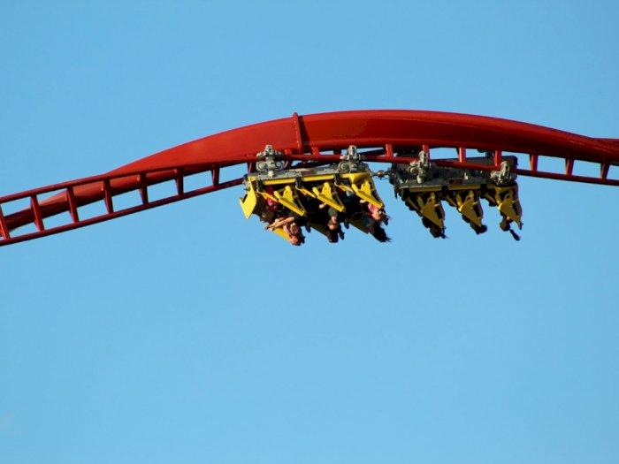 Insiden Roller Coaster Berdarah, Wanita Tewas Terjatuh dari Wahana yang Melaju