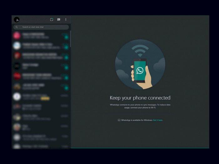 Resmi Dirilis, Ini Cara Mudah Aktifkan Fitur Dark Mode di WhatsApp Web!