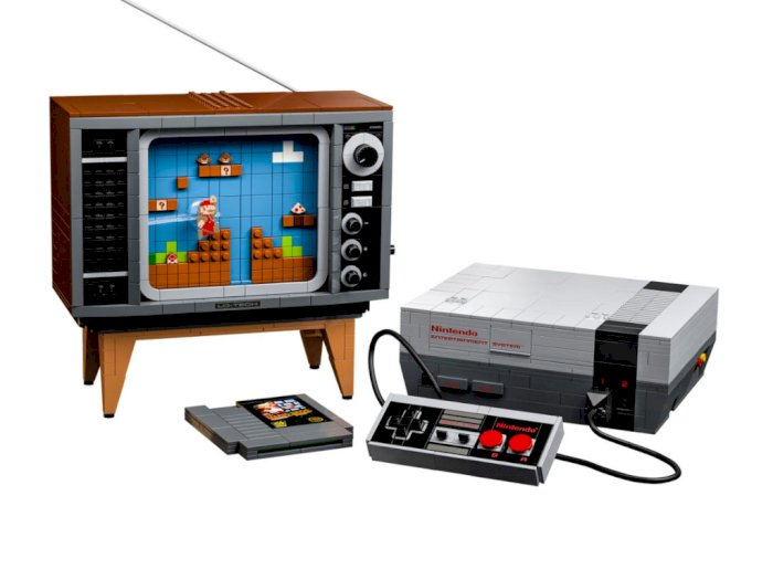 Console Nintendo Entertainment System Edisi LEGO Ini Dijual Rp3,3 Jutaan, Tertarik?
