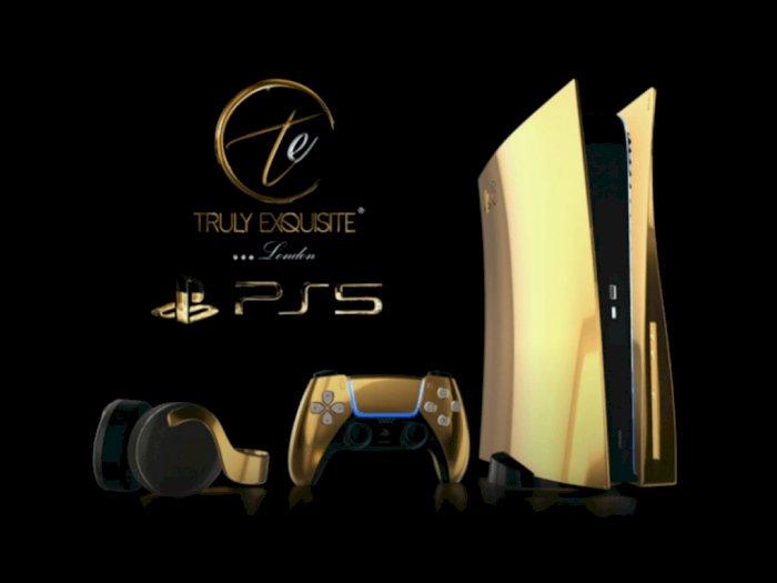 PlayStation 5 Ini Dibaluti Emas 24 Karat, Buka Tahap Pre-Order untuk Sultan
