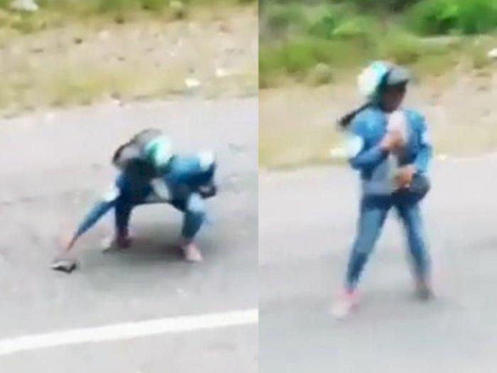 Nemu Dompet di Jalan, Wanita Ini Berakhir Malu