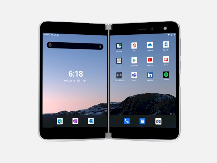 Surface Duo Ternyata Bukanlah Smartphone Lipat Pertama Milik Microsoft!
