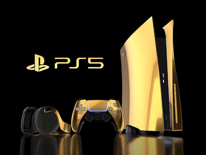 PlayStation 5 Berbalut Emas Seharga Rp153 Juta Siap Dijual Minggu Ini!