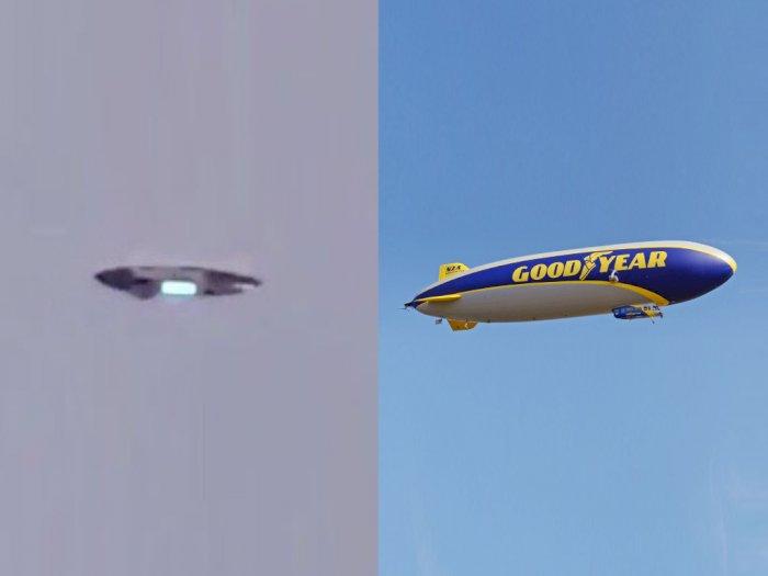 Sempat Dikira UFO, Benda Aneh di Langit New Jersey Ini Ternyata Cuma Balon Udara Goodyear!