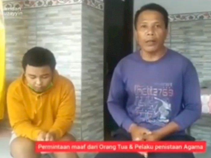 Digeruduk Warga, Cowok yang Sebut Islam Agama Tidak Baik di Indonesia, Cuma Nunduk