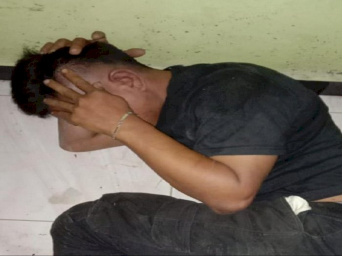 Bodoh! Pemuda di Deliserdang Curi Gas untuk Beli Sabu, Warga yang Geram Memukulinya