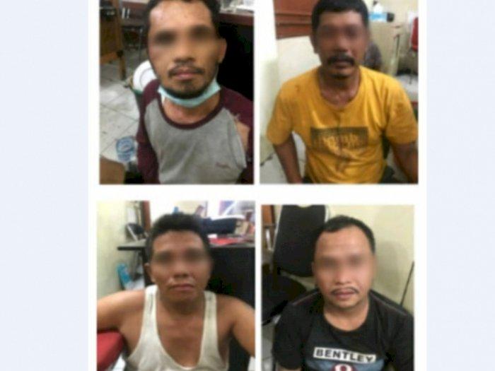 Rampok Uang Koperasi Rp520 Juta, Komplotan Pencuri Lintas Provinsi Diringkus Polda Sumut