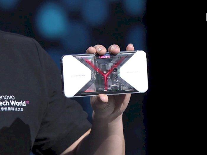 Lenovo Pamerkan Smartphone Legion Pro dengan Tampilan Belakang Transparan!