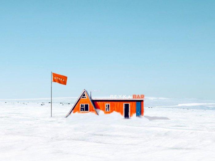 Eksotis! Islandia Tawarkan Bar Gletser Pertama di Dunia