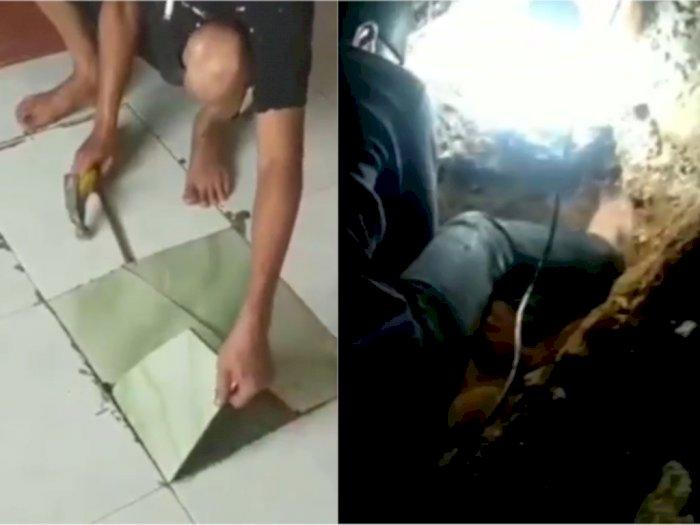 Pembunuh Pria yang Dikubur di Rumah Kontrakan di Depok Ternyata Adiknya Korban