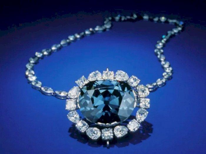 Misteri Hope Diamond, Berlian Indah Berwarna Biru yang Terkutuk