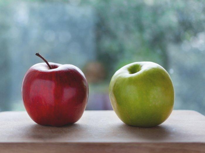 Apel Merah atau Apel Hijau yang Lebih Sehat?