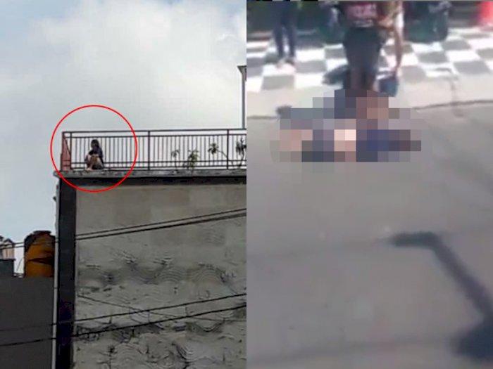 Tragis! Diduga Putus Cinta, Mahasiswi Bunuh Diri Lompat dari Lantai 4 Hotel di Bali