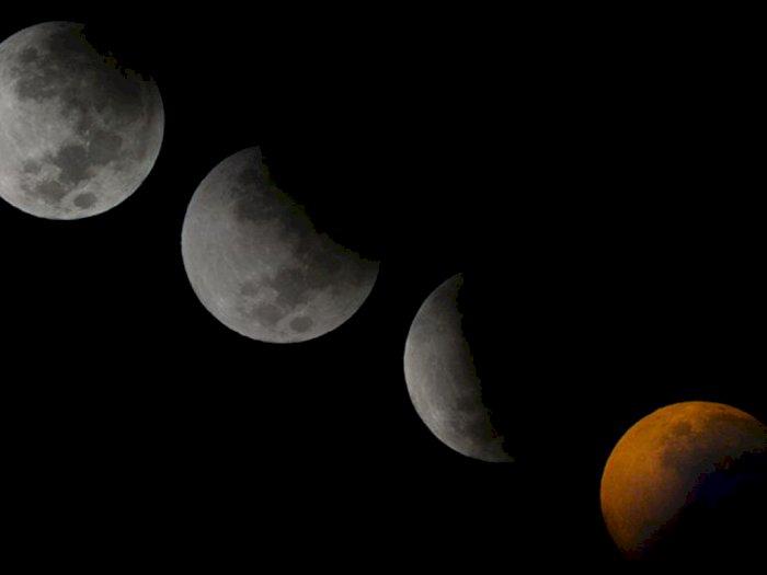 Siap-siap, Dua Hari Lagi ada Gerhana Bulan Penumbra, Catat Jam-nya