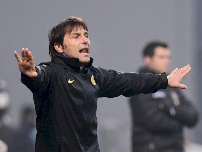 Monchengladbach 2-3 Inter, Conte Puji Semangat Pemainnya