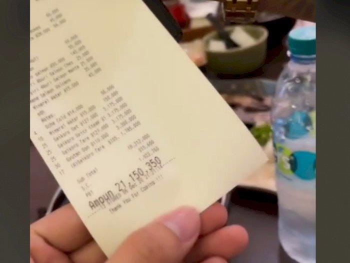 Viral Crazy Rich Surabaya Makan di Resto Habis Rp21 Juta, Netizen Nangis Lihatnya
