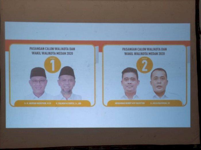 Di TPS Gubernur Sumut, Suara Pasangan AMAN Menang Jauh dari Pasangan Bobby - Aulia
