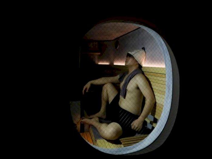Kasus Covid-19 Meningkat, Sauna untuk si Lajang Ini Justru Makin Digemari