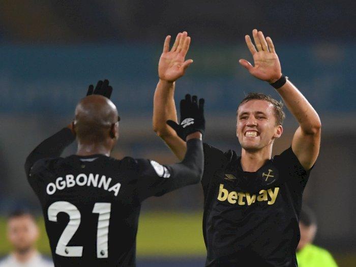 FOTO: Liga Inggris, Leeds United vs West Ham United 1-2