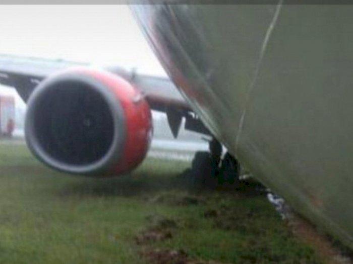 Pesawat Lion Air Tergelincir di Bandara Radin Inten II