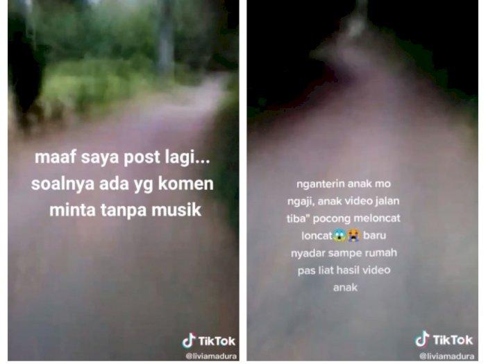 Seorang Ibu Antar Anak Ngaji, di Tengah Jalan Lihat Bayangan Putih Loncat Mirip Pocong