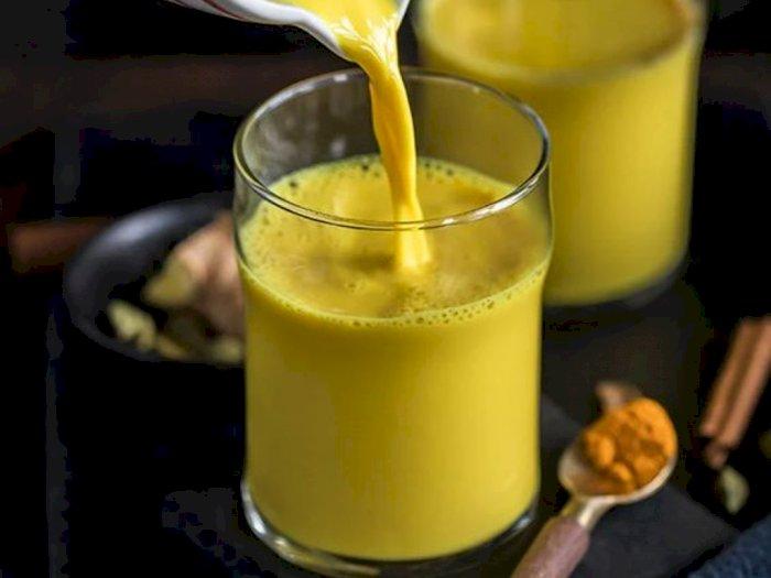 Resep Susu Kunyit (Golden Milk) dan Manfaat Kesehatannya